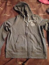 Men's Size L Gray Hollister Sweat Jacket NWT- $49.50 Value