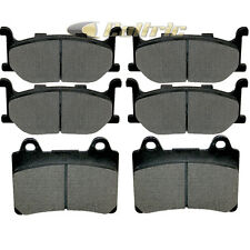 FRONT REAR BRAKE PADS YAMAHA XVZ1300 ROYAL STAR MIDNIGHT TOUR DELUXE 2006-2007