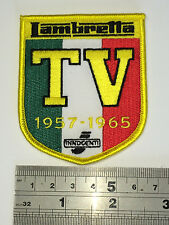 Lambretta TV 1957-1965 Patch - Embroidered - Iron or Sew On