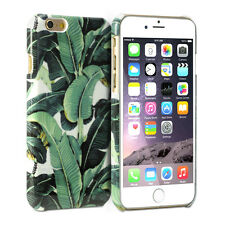 iPhone 6 Plus Case - GMYLE Snap Cover Glossy Tropical Banana Leave Pattern