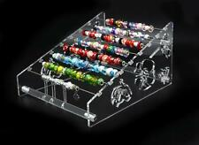 Acrylic 2-way floral Display rack pandora charms beads bangle jewellery Stand