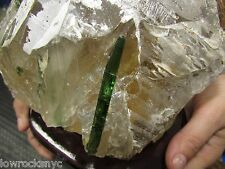 Mother Nature * NATURAL CITRINE w/ GREEN TOURMALINE 3.6Kgs 8Lbs * Just Found it