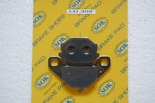 REAR BRAKE PADS fits KAWASAKI ZR 400 Xanthus, 92-95 ZR400