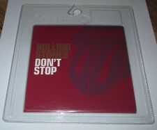Rolling Stones - don't stop - cd single 2 titres 2002 (neuf scellé)