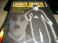 CHARLIE CHAPLIN COLLECTION VOL 3 -5 FILMS NEW & SEALED DVD - FREE POST IN UK