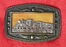 Vtg Train Locomotive Engine Belt Buckle New York CII C II