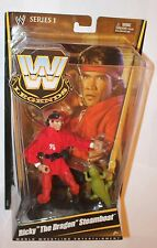 WWE Ricky the Dragon Steamboat Legends Mattel Elite Action Figure Series 1 WWF