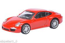 Porsche 911 S (991) Coupe red, Schuco Car Model 1:87, 452613700