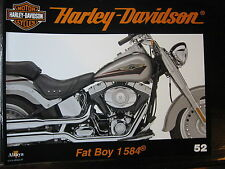 FASCICULE 52 HARLEY DAVIDSON FAT BOY 1584 / MUSEE DE MILWAUKEE / MOTEUR PANHEAD