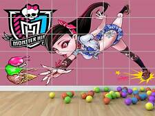 MONSTER HIGH DRACULAURA GEANT POSTER CHAMBRE ENFANTS ROOM KIDS
