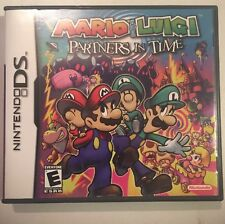 Mario & Luigi: Partners in Time (Nintendo DS, 2005)Complete Mint Shape Authentic