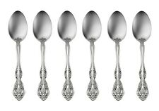 6 Michelangelo Teaspoons Oneida New 18/10 Stainless Free Shipping
