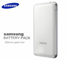SAMSUNG 10400mah POWER BANK CARICABATTERIE PORTATILE Finitura in Pelle Per Telefoni Cellulari