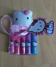 Hello Kitty gift set lip balm 5pc flavored