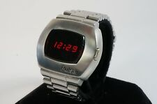 Pulsar P2 1973 SS LED watch SERVICED w/ WARRANTY