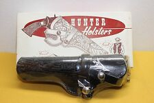Hunter Black Leather Hip Holster No 1100 Sz 3 Left-Hand S&W Autos 41 & 46 etc