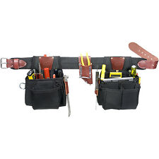Occidental Leather 9525LH Left Hand Finisher Finishing Tool Bag Belt Set - Small