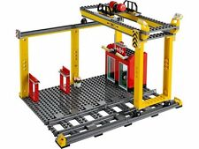 LEGO City Train Station and Overhead Crane Brand New from set 60052
