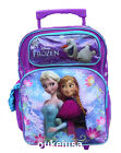 Disney Frozen Roller Backpack Anna Elsa Large Rolling School Backpack Bag