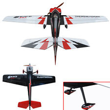 "Flight Model Oracover Film RC Airplane Gas 3D ARF 6CH Sbach 342 74.8"" 30cc Plane"