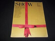 1964 OCTOBER SHOW MAGAZINE OF THE ARTS - BIRTHDAY ISSUE - FRONT COVER - C 4599