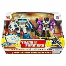 Battle for Autobot City TRANSFORMERS ULTRA MAGNUS SKYWARP MISB CLASSICS MINT