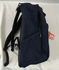 JanSport Backpack Recruit Bag Digital Padded Laptop Sleeve Navy Blue DIRTY