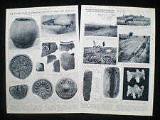 OLOV JANSE HAN & SUNG SONG DYNASTY POTTERY CHINA ARCHAEOLOGY 2pp ARTICLE 1938