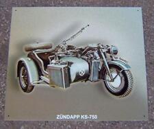 Älteres Blechschild Oldtimer Motorrad Zündapp gebraucht used