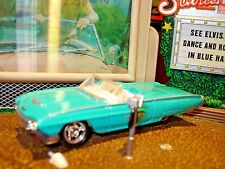 1963 FORD THUNDERBIRD LIMITED EDITION SPORTS ROADSTER 1/64 HOT WHEELS HOT!