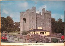 Irish Postcard BUNRATTY CASTLE Durty Nelly's Pub Clare Ireland Cardall 296 4x6