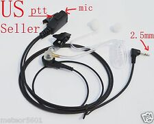 FBI Style Headset/Earpiece Mic for Motorola Walkie Talkie Talkabout Radio