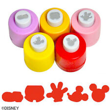Set of 5 Different Disney Craft Paper Punches – Mickey & Minnie Mouse Theme