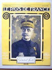 █ Le Pays de France N° 13 du 14 Janvier 1915 Le Matin █