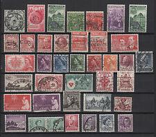 1930/50 AUSTRALIE AUSTRALIA un lot de timbres oblitérés /T389