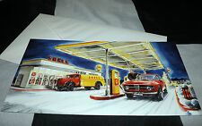 MERCEDES BENZ 6600 L NEW ART PRINT CHRISTMAS NOEL GREETINGS GIFT CARD ENVELOPE