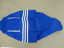 Blue ribbed Gripper Seat Cover Team Honda CRF450 CRF450R 2005-2008