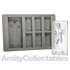 NEW HAN SOLO CARBONITE Silicon Ice Ball Tray Mould | Star Wars, Chocolate, Soap