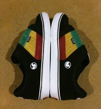 DVS Ignition CT Size 11.5 Black Rasta Militia Havoc Transom BMX DC MOTO Skate