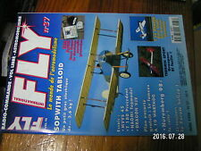 ?µ µ? Revue Fly n°37  Plan encarté A10 Warthog / Sopwith Tabloid T34 Mentor
