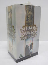 BNIB Star Wars Original Trilogy 3 x VHS Boxed Set Episodes IV, V & VI - WAR L2