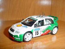 SKODA FABIA WRC 2003 GARDEMEISTER-LUKANDER#15 1:43 MINT