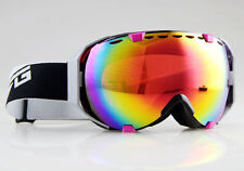 Men's Women's Adults Anti-Fog Double Lens Snow Board Ski Goggles UV Sunglasses