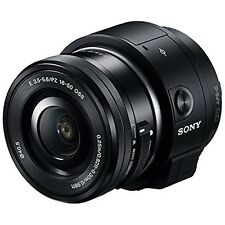 New SONY ILCE-QX1L Black Mirrorless Lens-Style Digital Camera Lens Fast Shipping