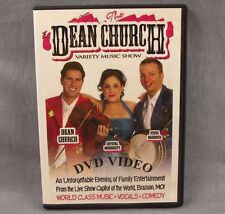 The Dean Church Variety Music Show DVD Signed Autograph 24 Songs Concert