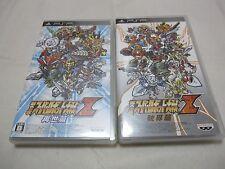 7-14 Days to USA PSP Dai 2 Ji Super Robot Taisen Z Hakai Hen And Saisei Hen 2Set