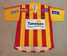 2001 Adidas Esperance Tunisia Africa match worn (v Bayern) soccer jersey shirt L