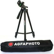 "AGFAPHOTO 50"" Pro Tripod With Case For Olympus VG-140 VG-120 VG-110"