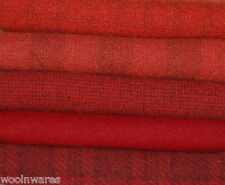 "HAND DYED RUG HOOKING WOOL Mill-Dyed ~ ""RAVISHING REDS"""