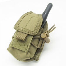 CONDOR MOLLE Modular Tactical Nylon HHR Radio Pouch ma56 - COYOTE TAN